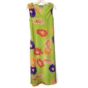 Joni Blair bright floral maxi dress with shawl